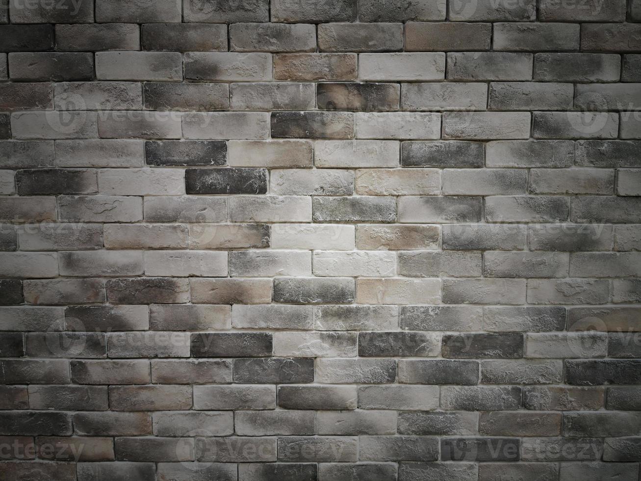 donkere bakstenen cement textuur muur achtergrond foto