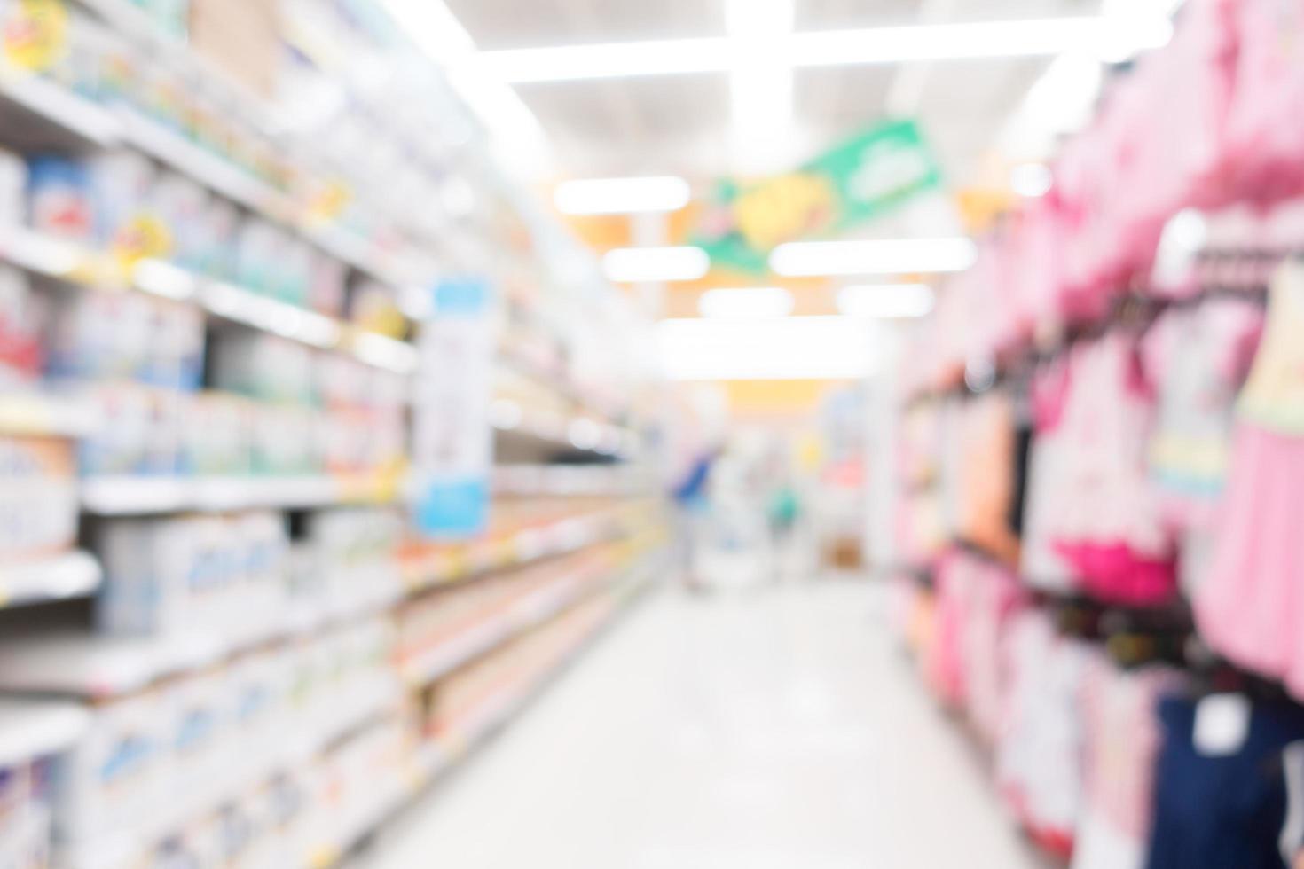 abstract intreepupil supermarkt interieur voor achtergrond foto