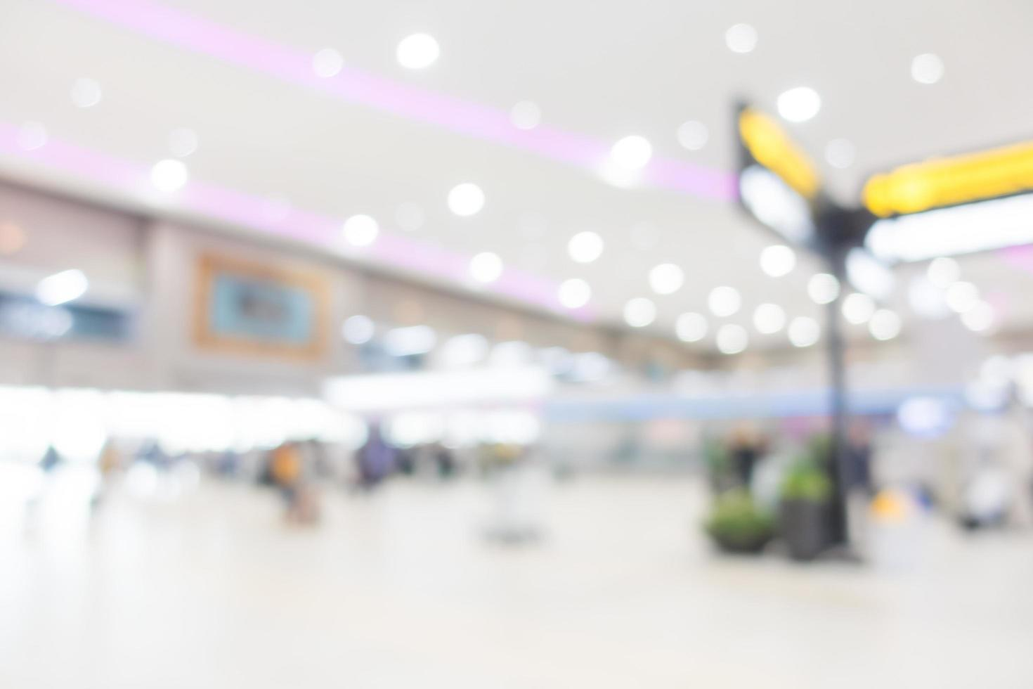 abstract intreepupil luchthaven interieur voor achtergrond foto
