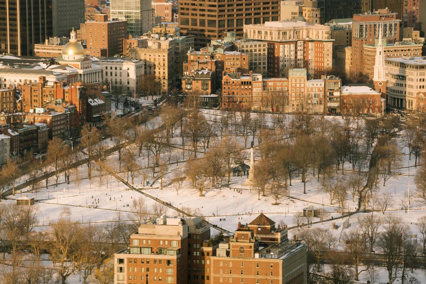 Boston in de VS. foto