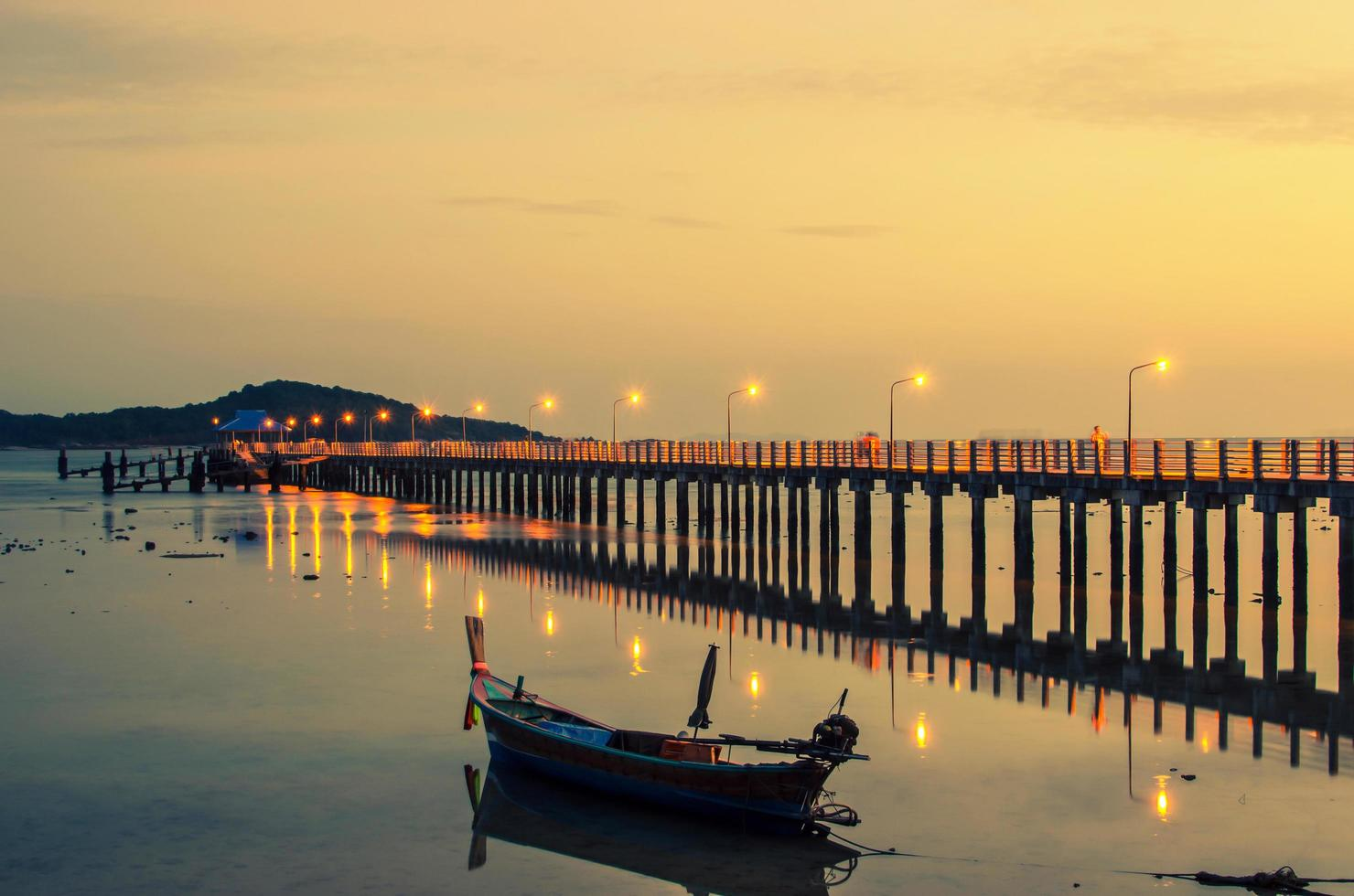 phuket eiland, thailand, 2021 - phuket eiland 's nachts foto