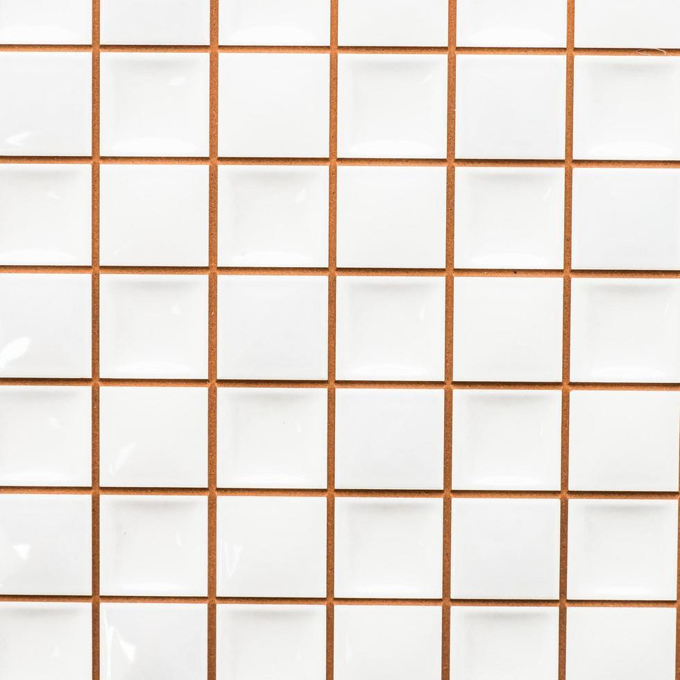 witte tegel muur texturen achtergrond foto