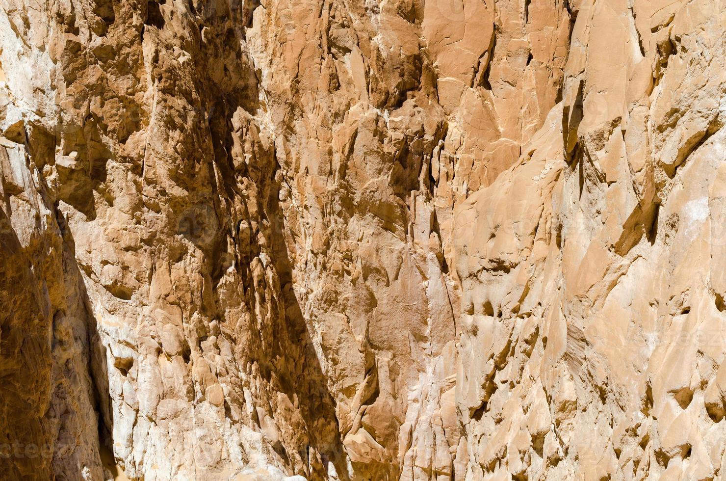 muur van een rotsachtige berg foto