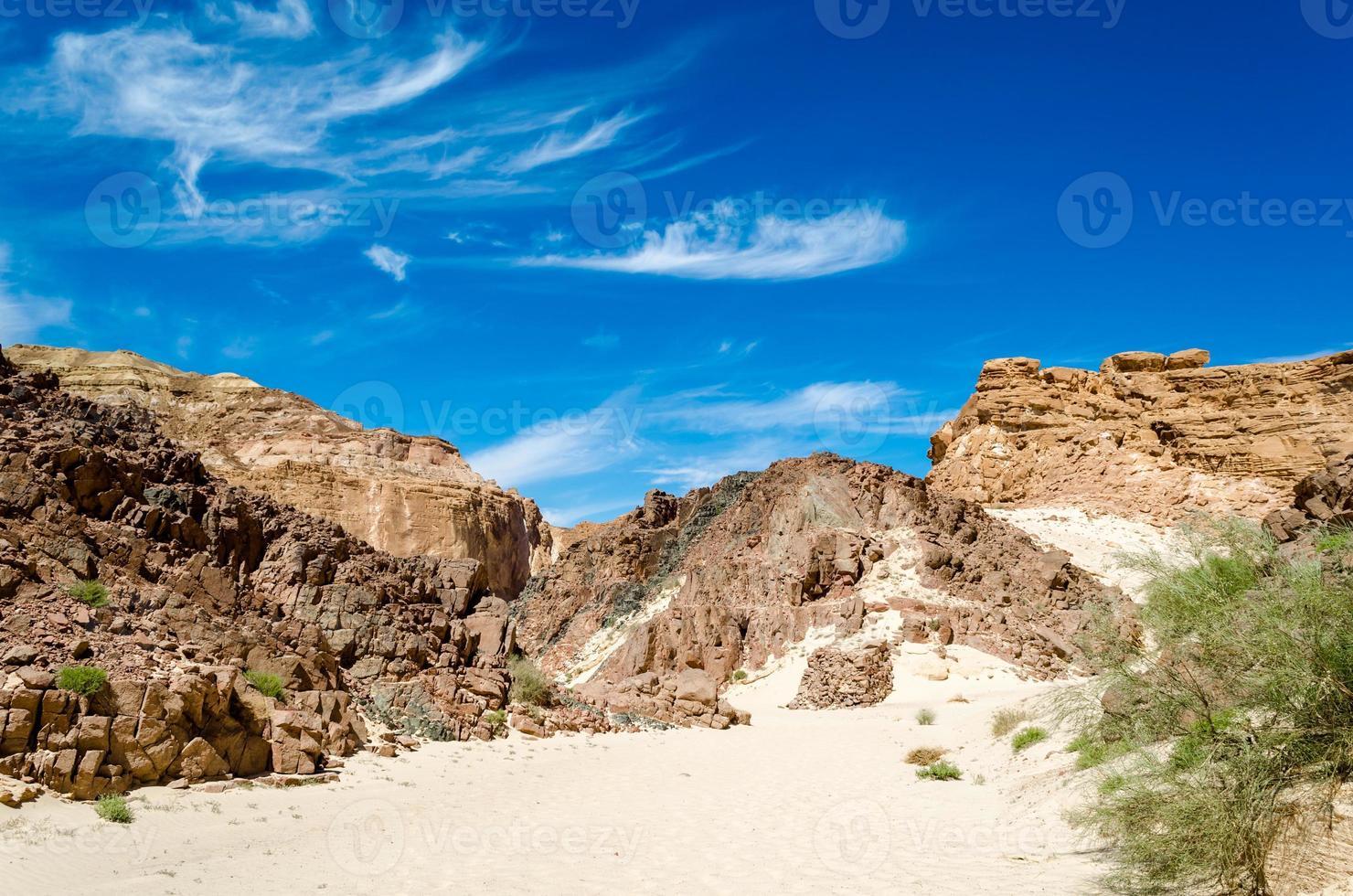 heuvels in de woestijn foto