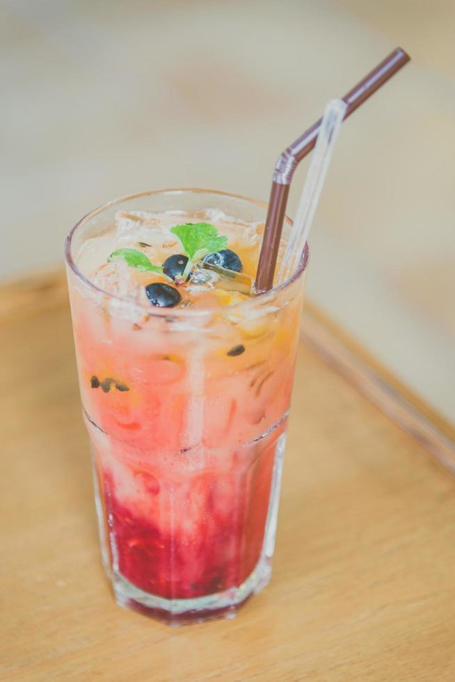 mix fruit moctails drankje foto
