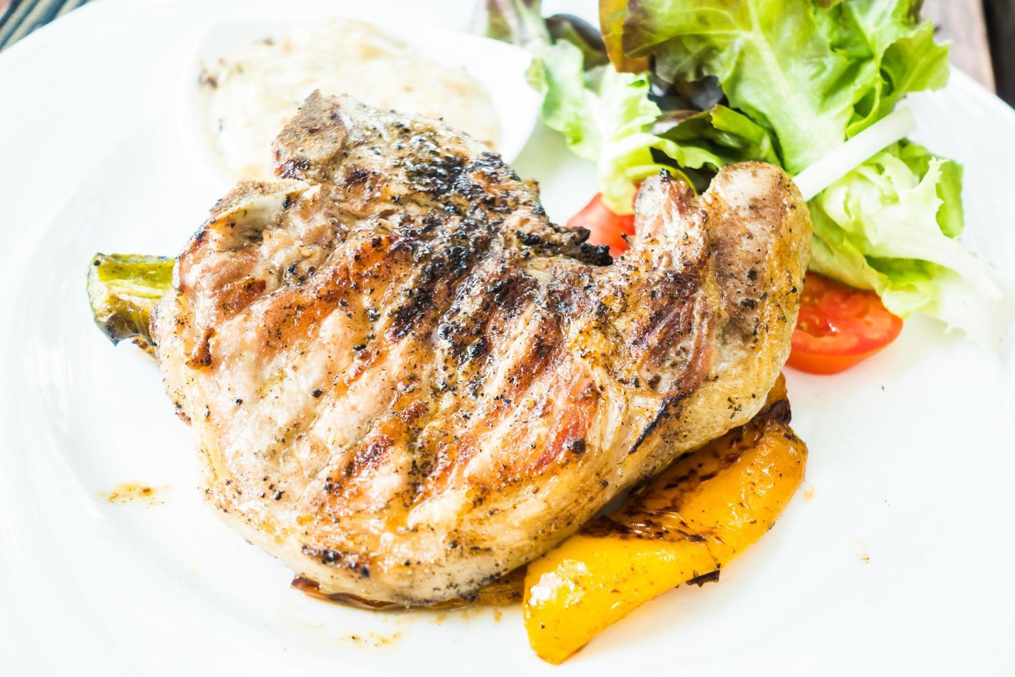 karbonade steak foto