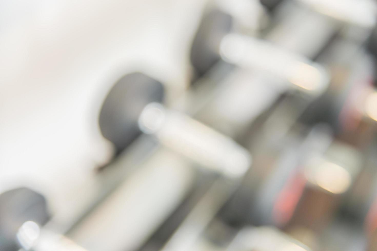 wazig halters in sportschool, achtergrond foto