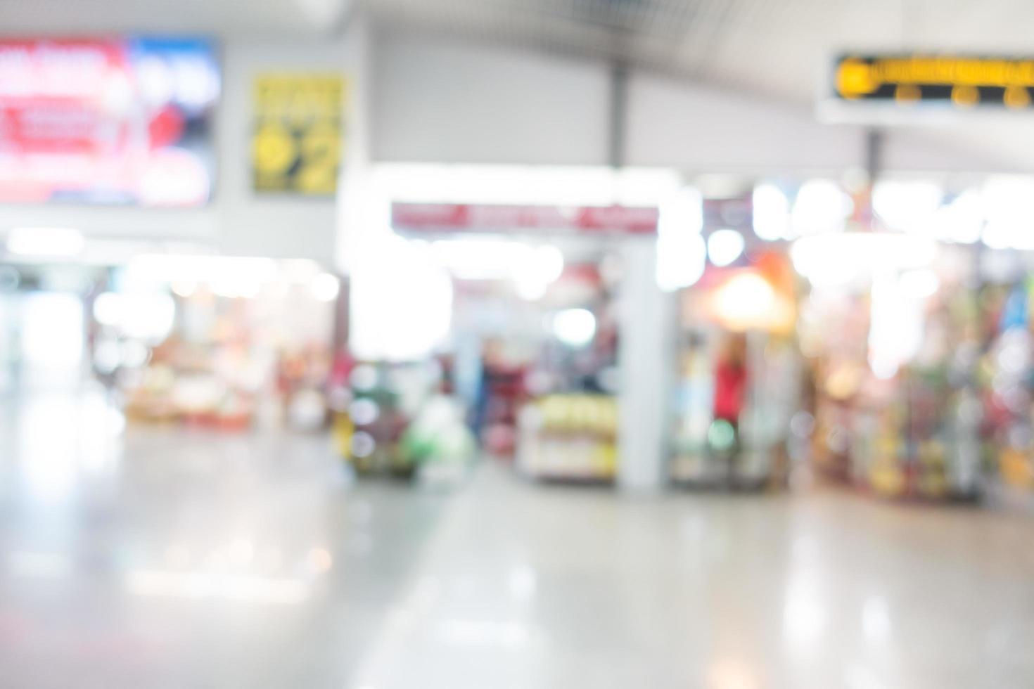 abstracte onscherpte luchthaven foto