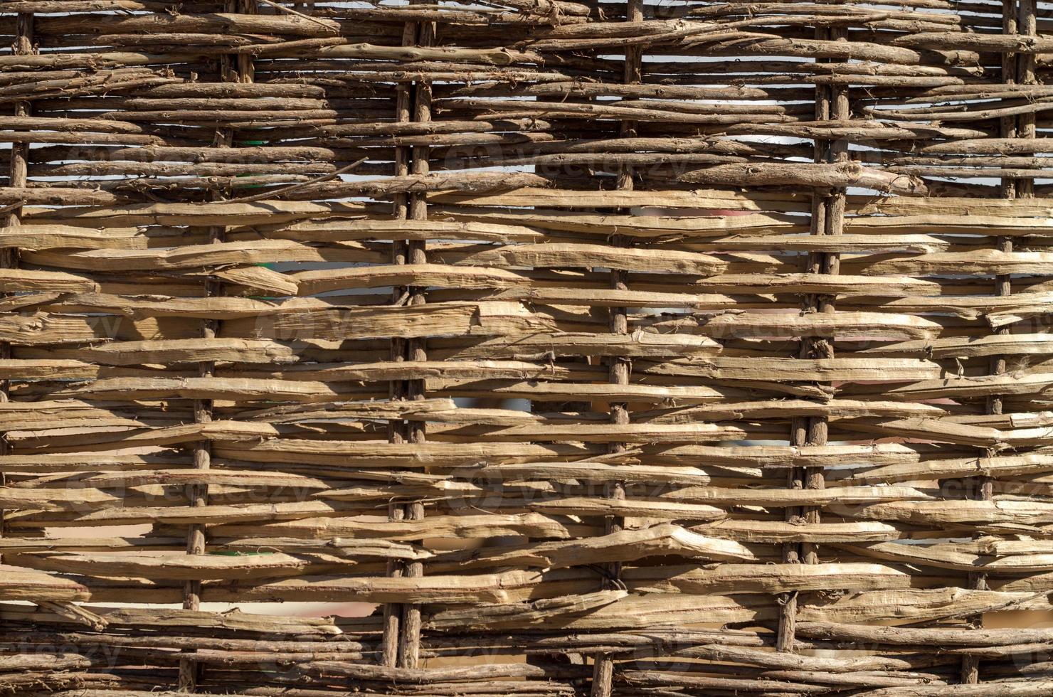 houten rieten textuur foto
