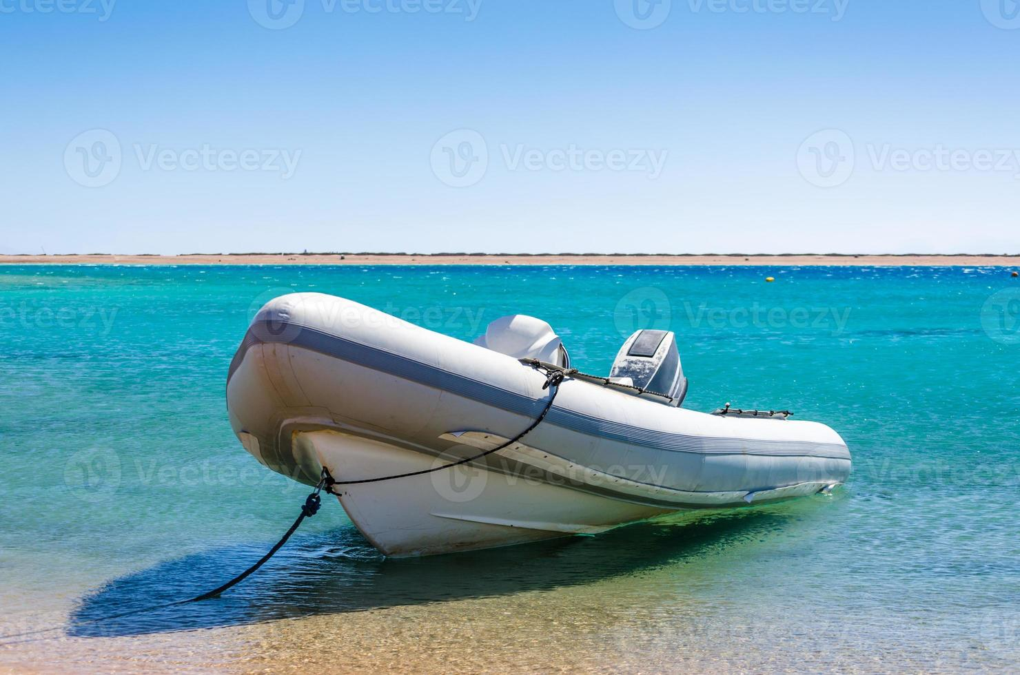 boot in het water foto