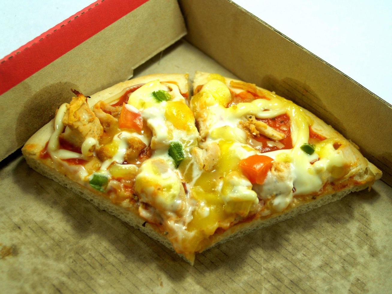 pizza eten foto