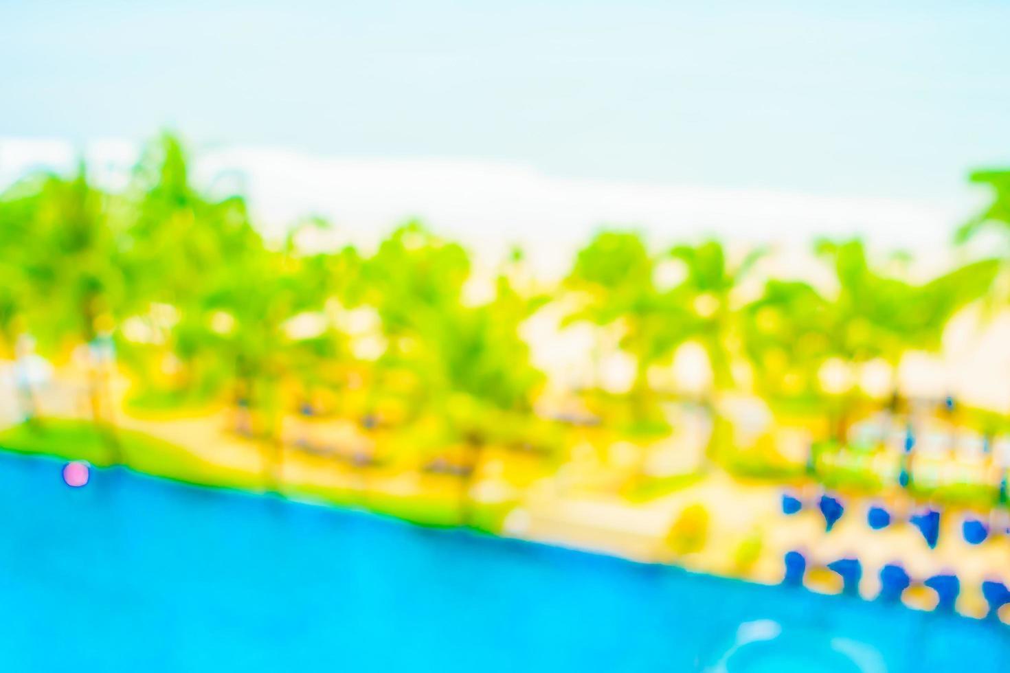 abstracte vervaging zwembad foto