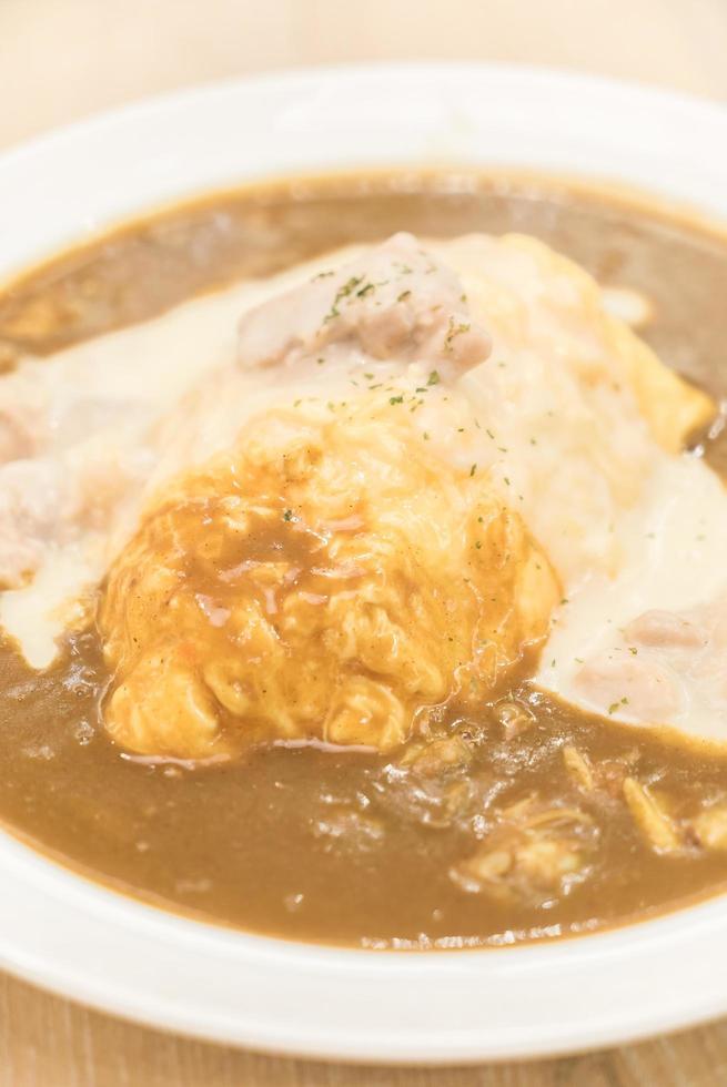 kerrie rijst - Japans eten foto