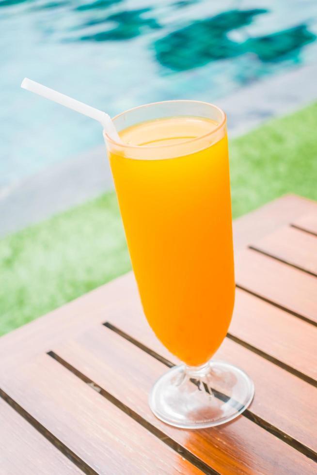sinaasappelsap glas foto