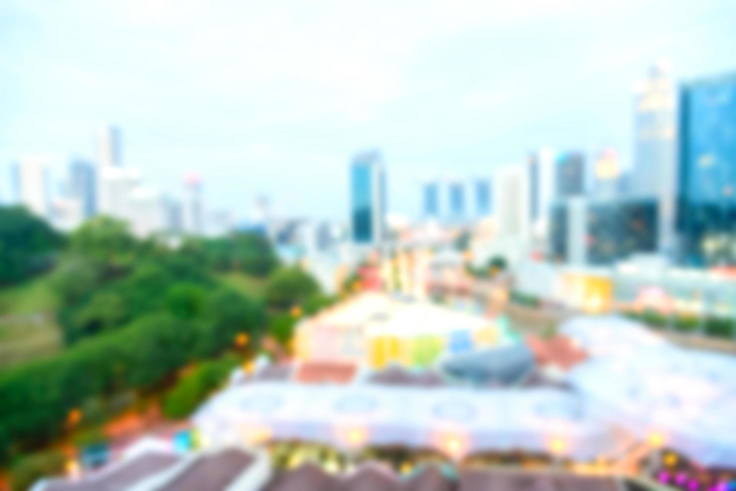 abstract intreepupil Singapore stad achtergrond foto