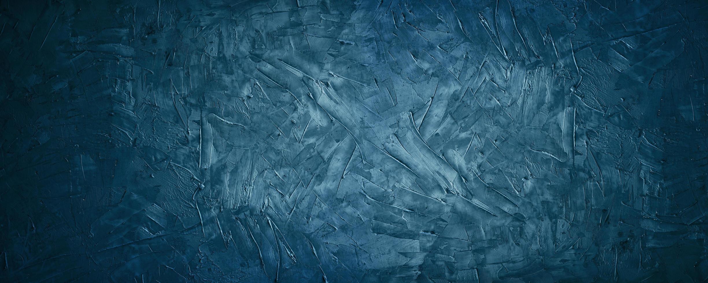 donkerblauwe grunge en textuurcement of concreate achtergrond foto