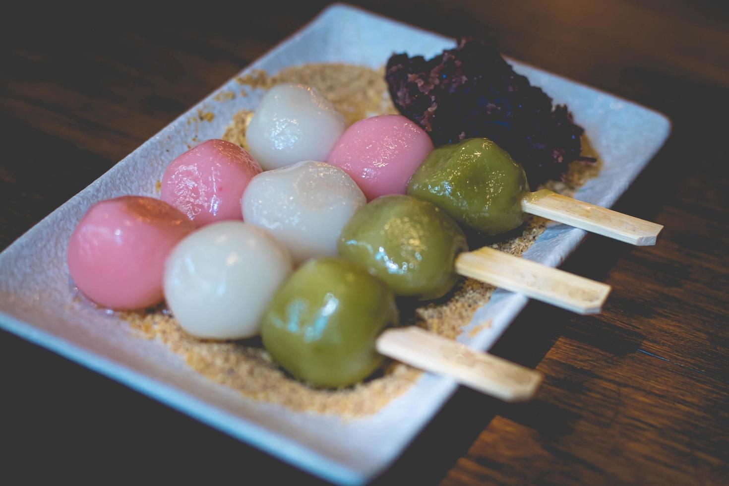 dango japans dessert foto