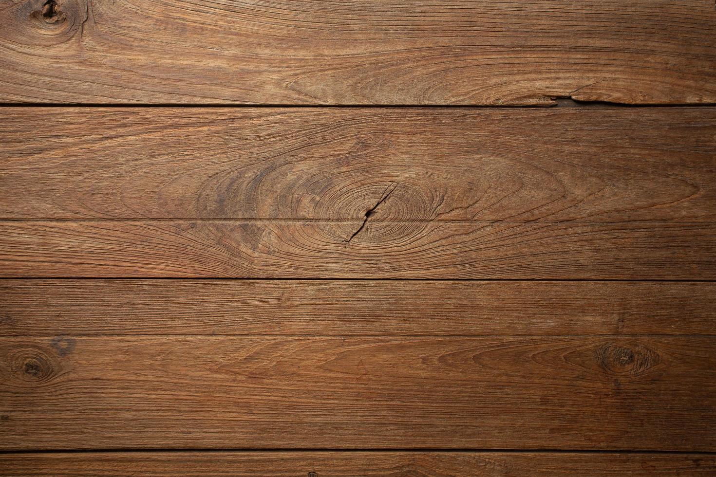 donkere oude houten tafel textuur achtergrond bovenaanzicht foto