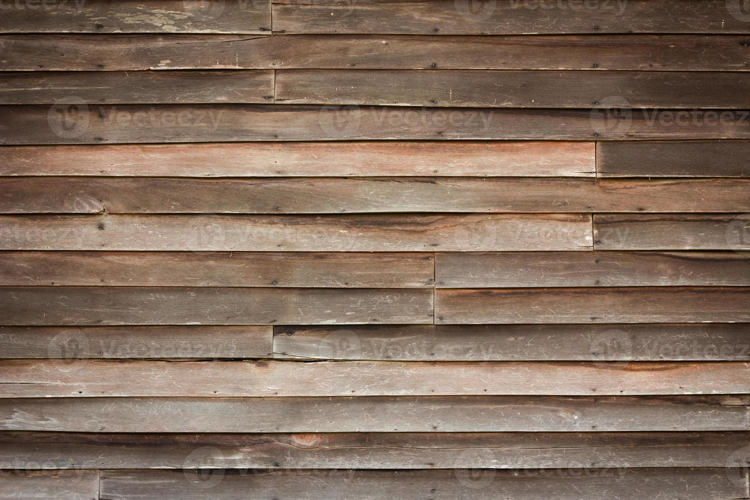 houten muur achtergrond met retro stijl foto