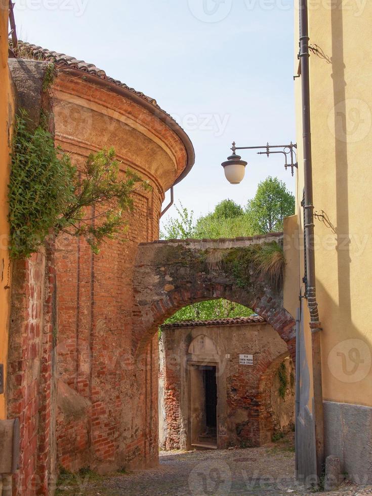 oude stad van rivoli foto