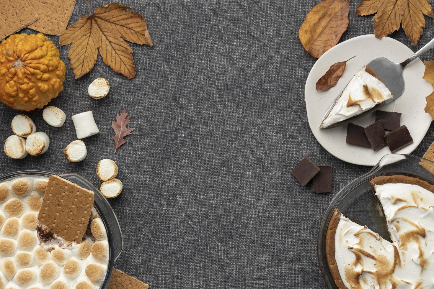 lekker mores dessert tafel arrangement foto