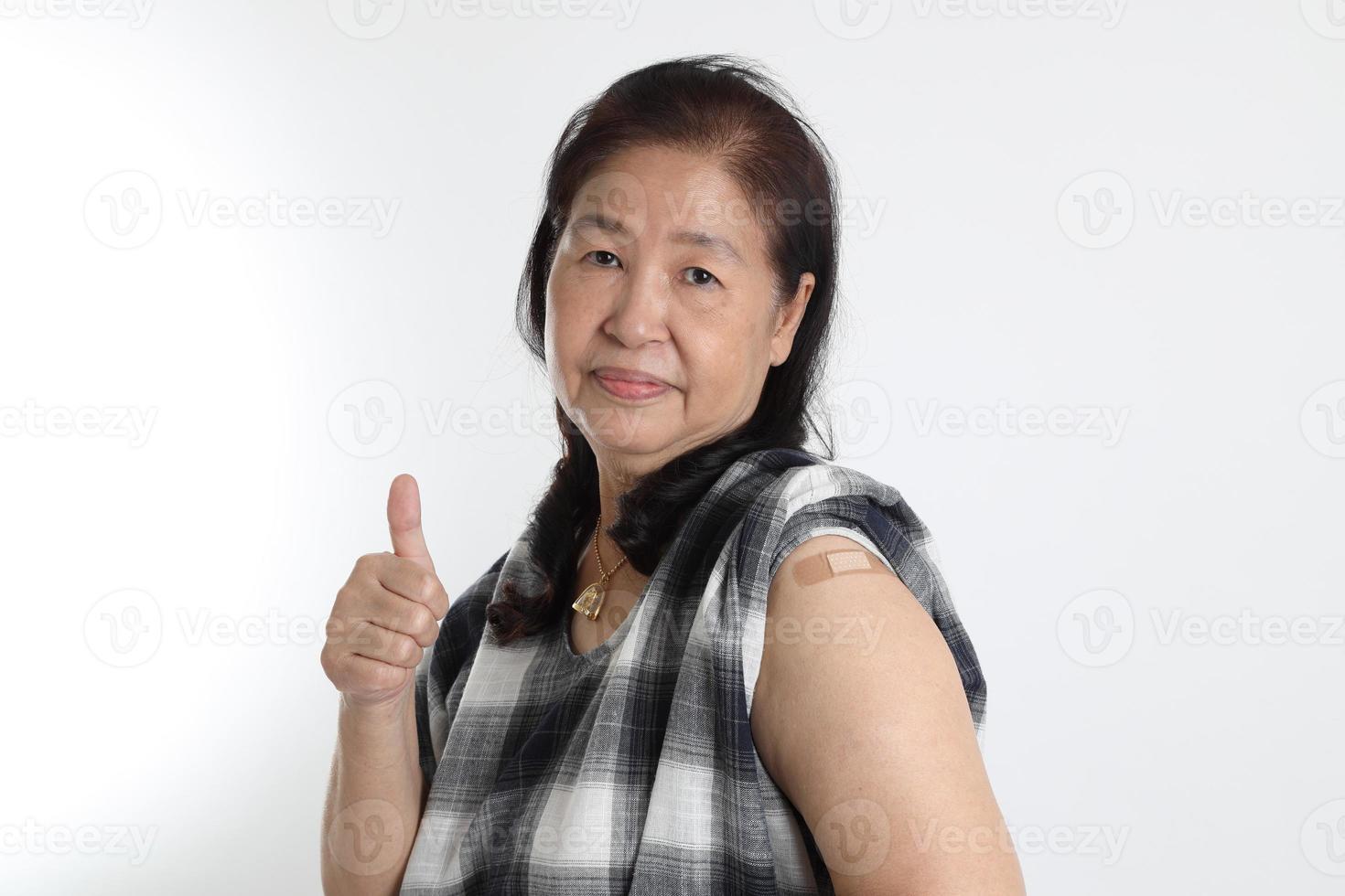 Aziatische man portret foto
