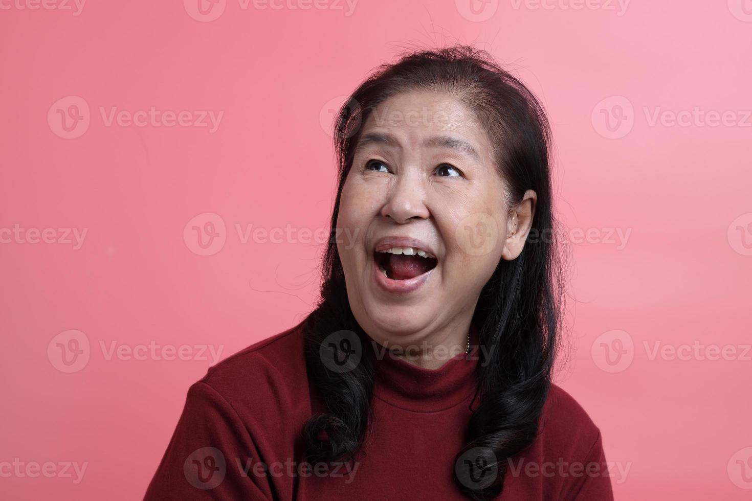 Aziatisch vrouwenportret foto