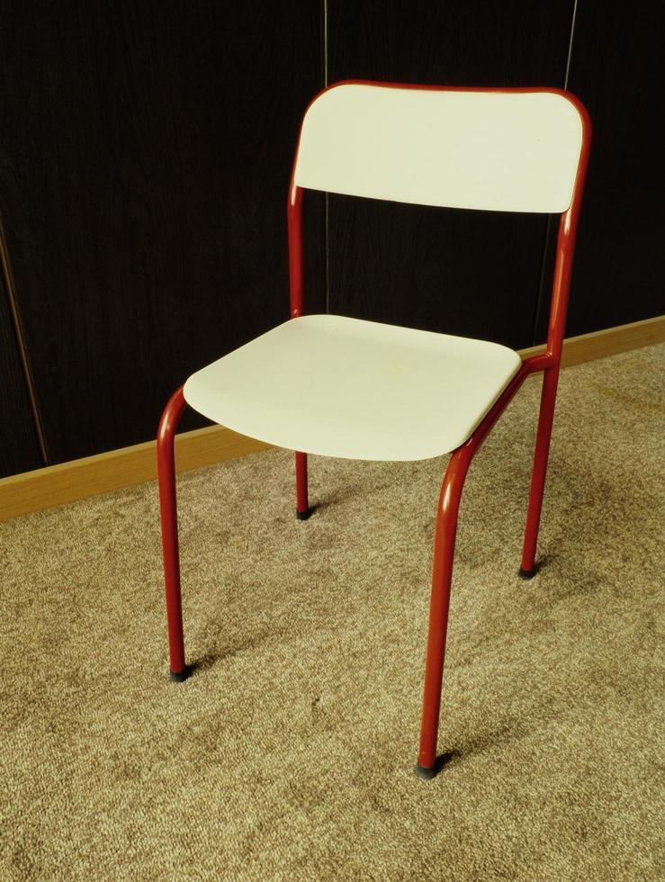 ijzeren tafel en stoelen foto