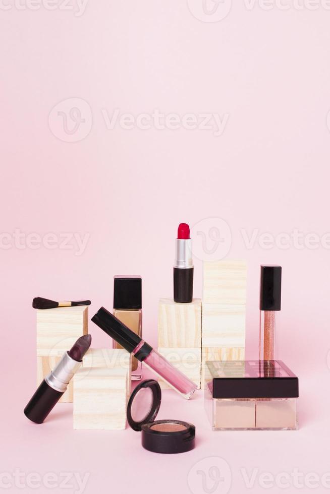 professionele make-up set foto