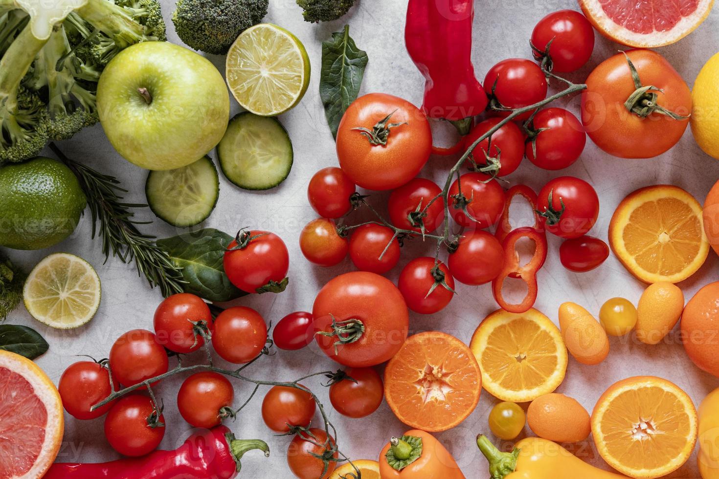 gezonde voeding, immuniteitsverhogende samenstelling foto
