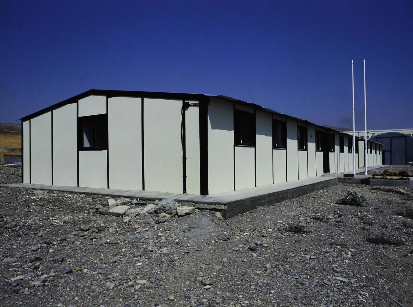 geprefabriceerde bouwplaats foto