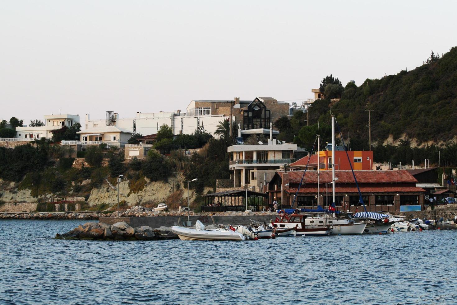 turkije's mooiste stad karaburun stad izmir foto