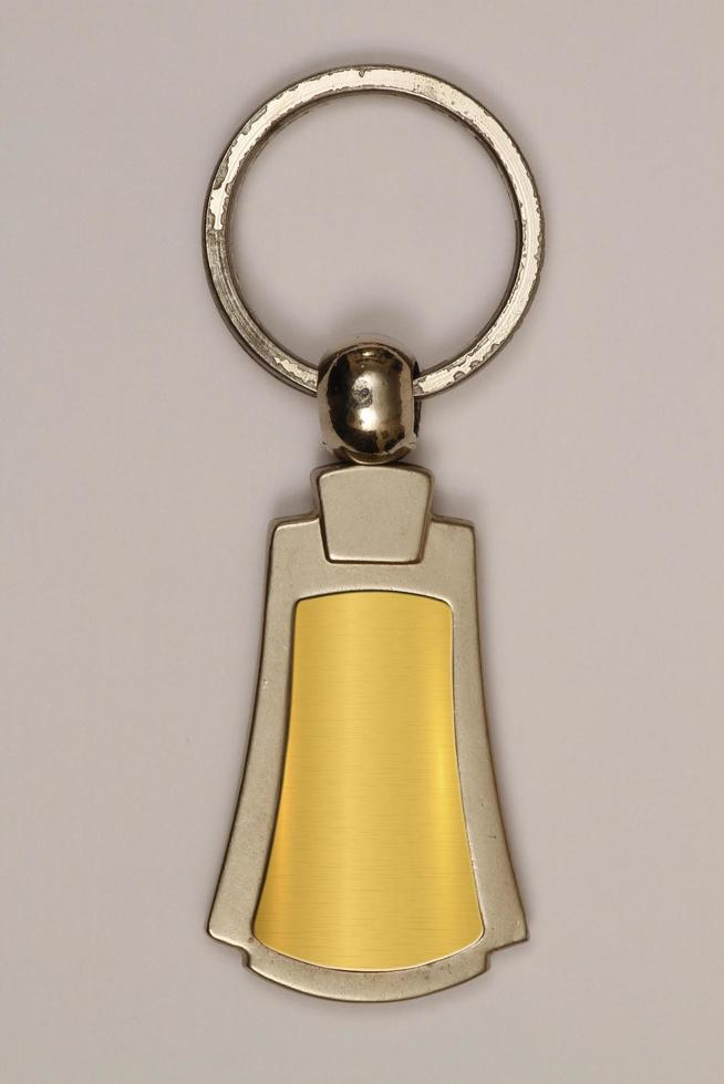 sleutelhanger gebruikt als promotie. foto