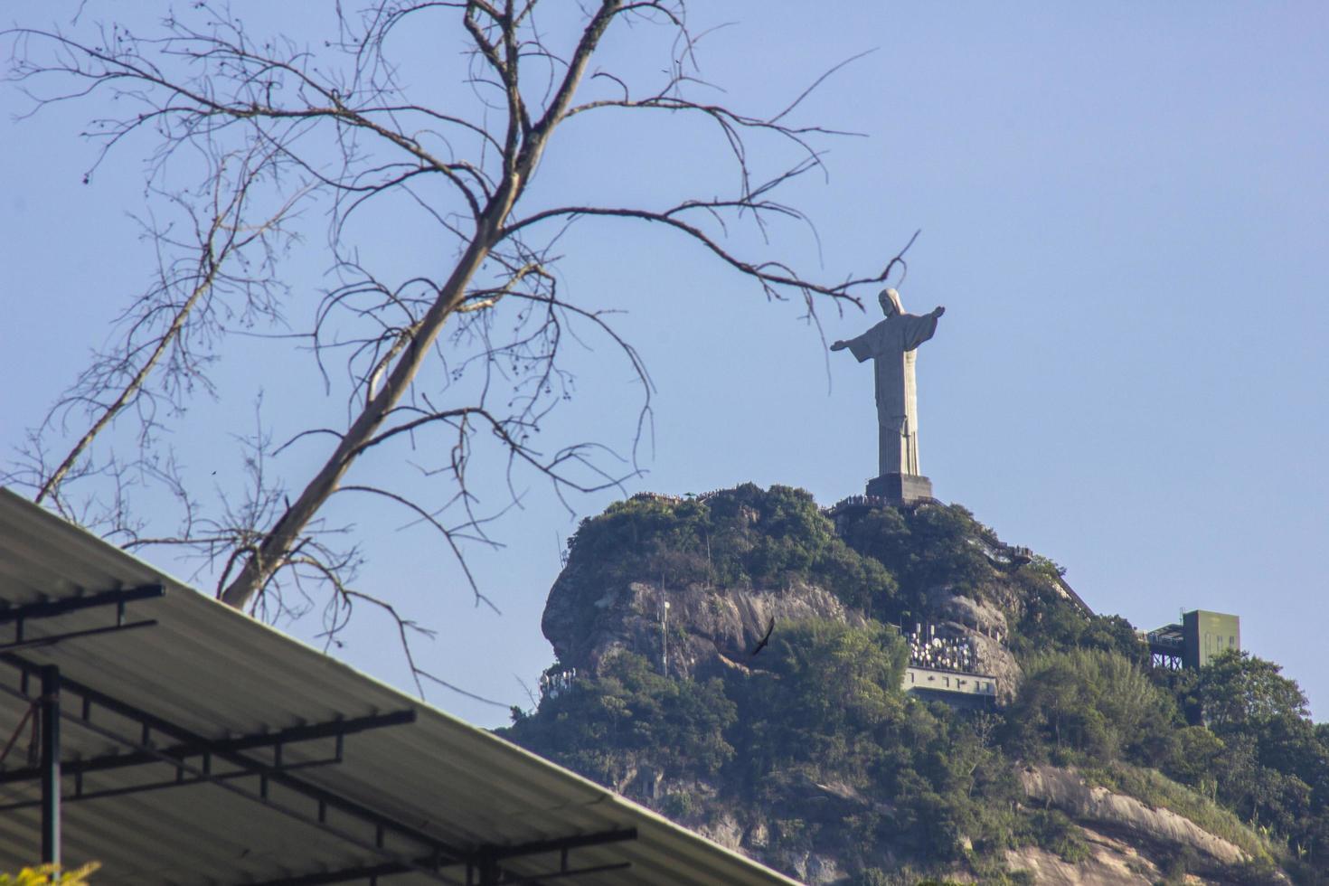 rio de janeiro, brazilië, 2015 - christus de verlosser foto
