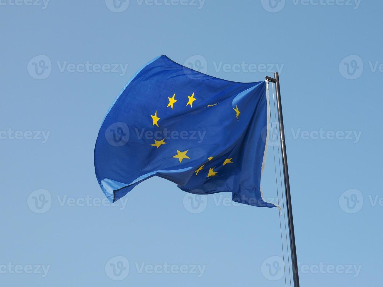 europese vlag van europa foto