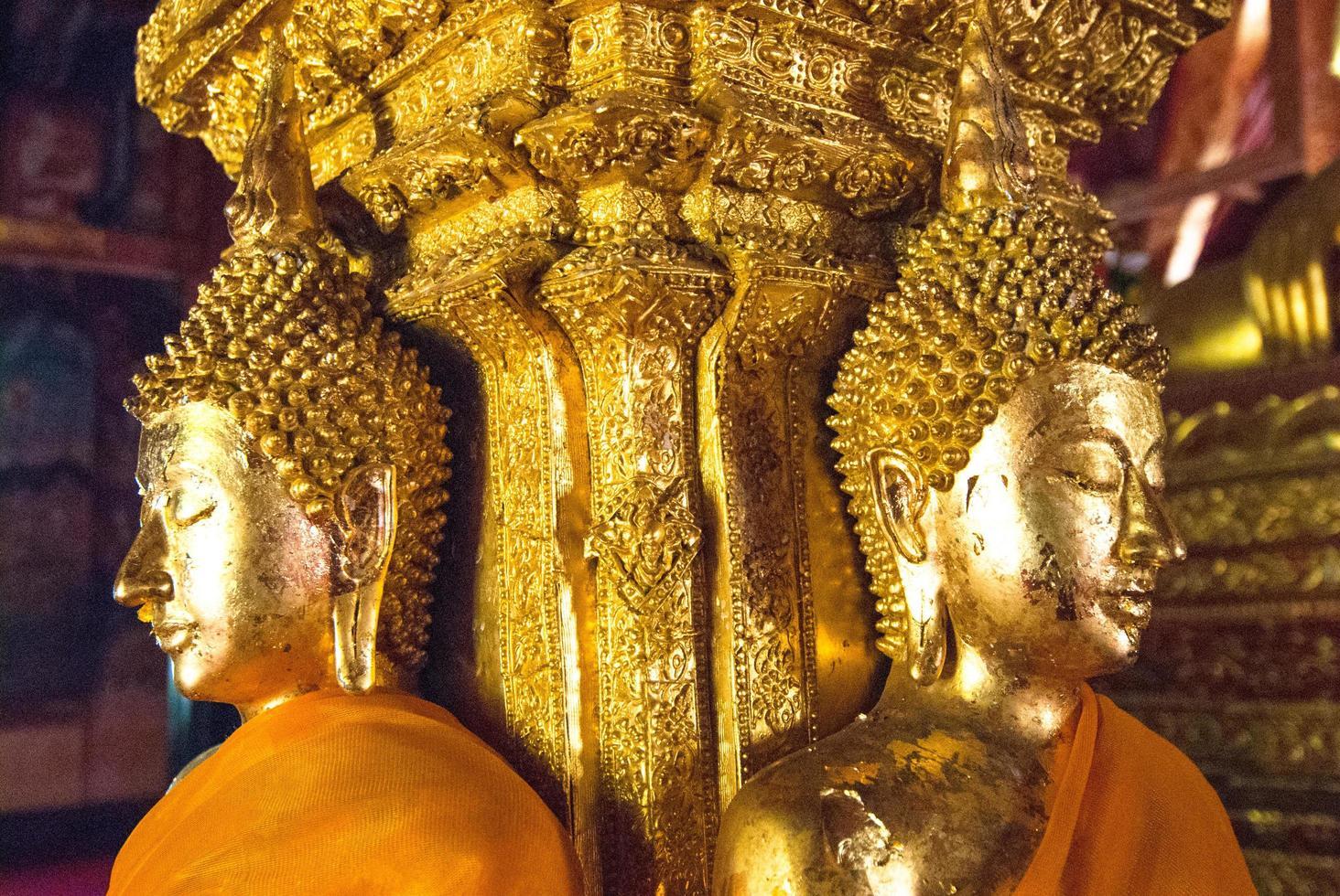 gouden boeddha, thailand foto