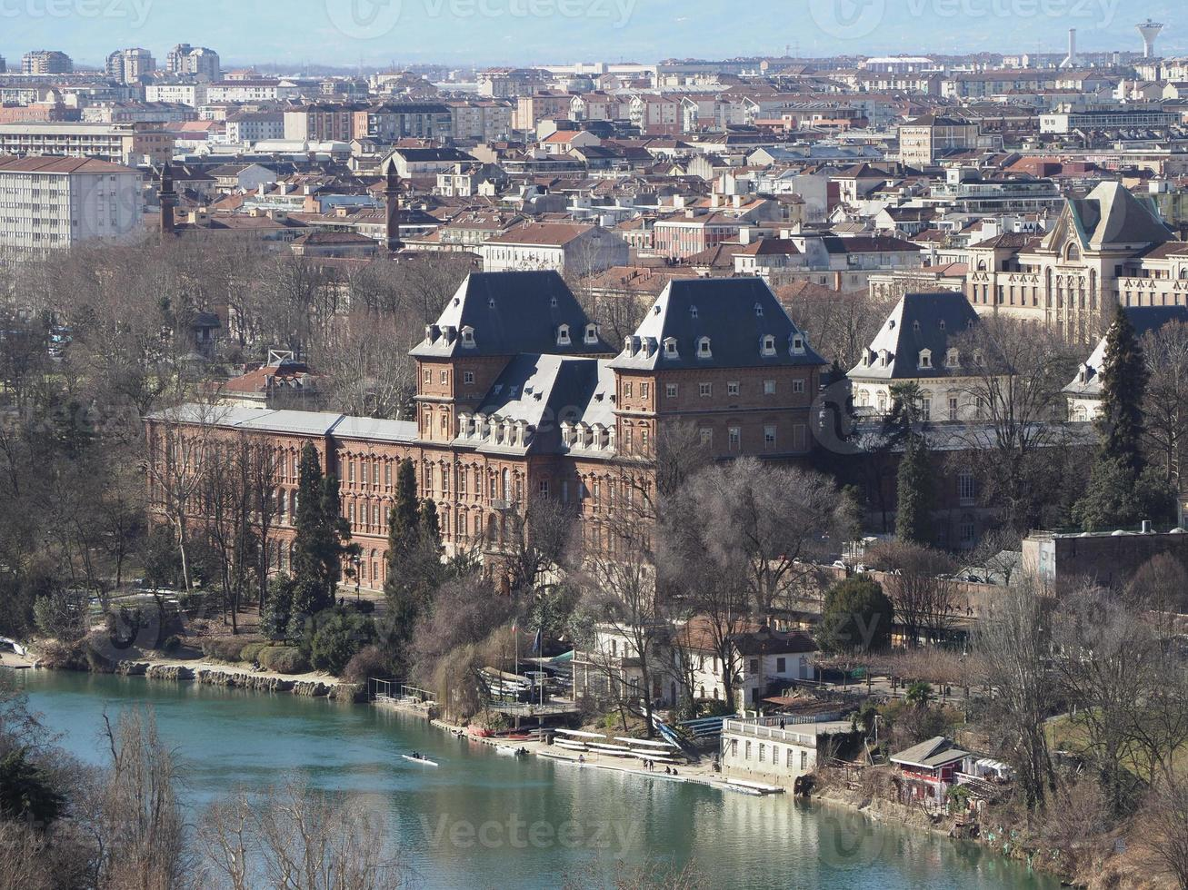 castello del valentino in turijn foto