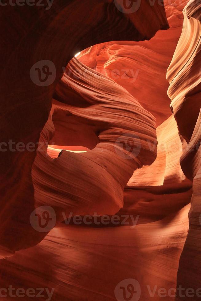 antilope slot canyon van de navajo in arizona usa foto