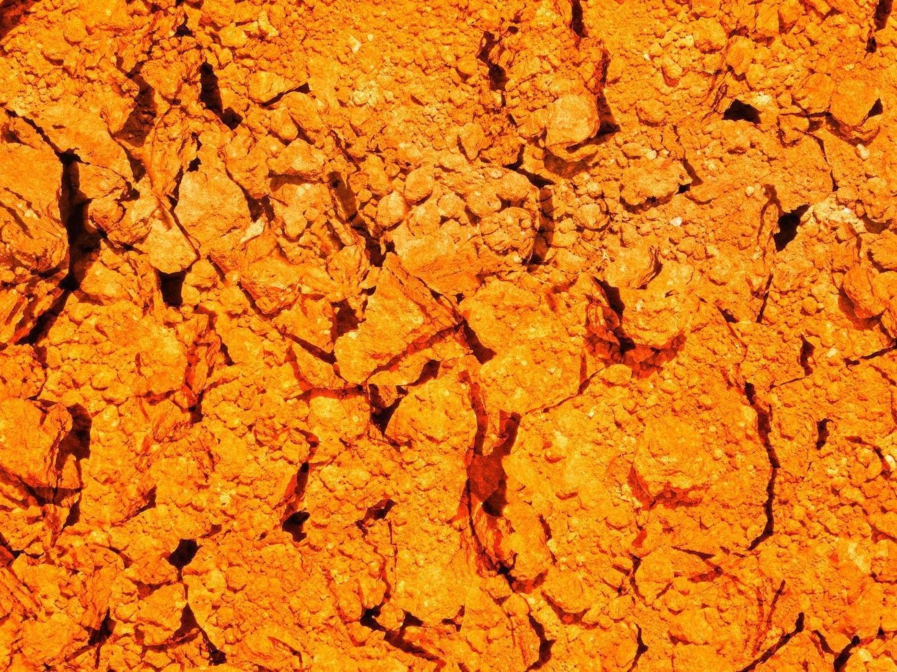 oranje aarde textuur foto