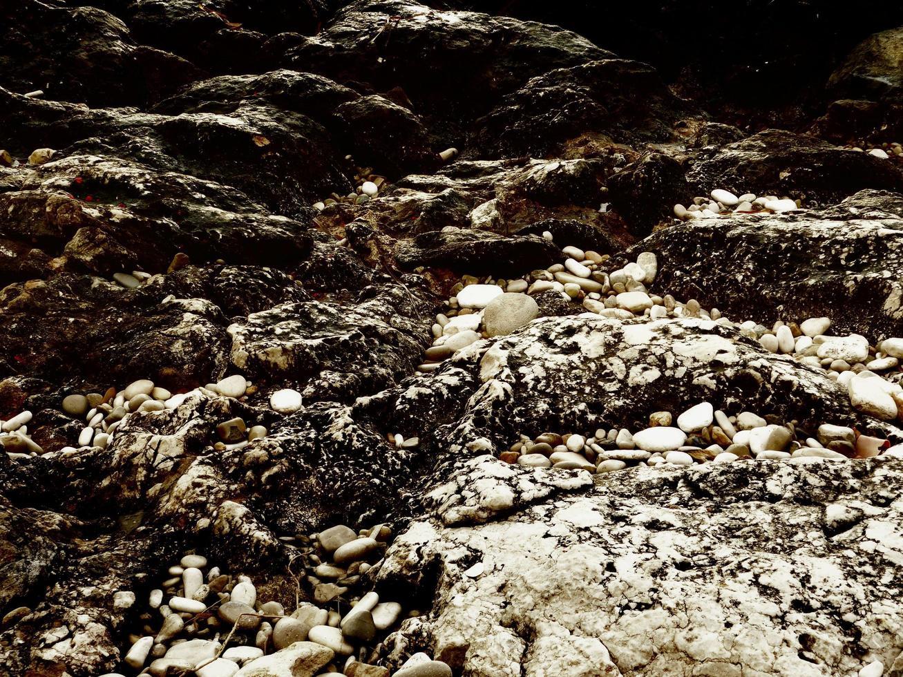 donkere steen textuur foto