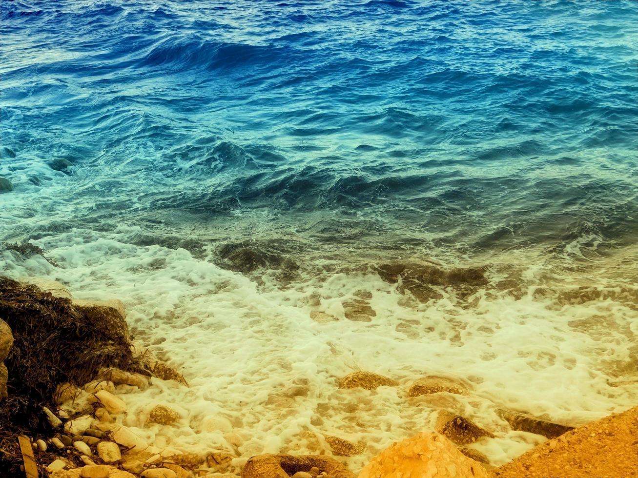 buiten zee textuur foto