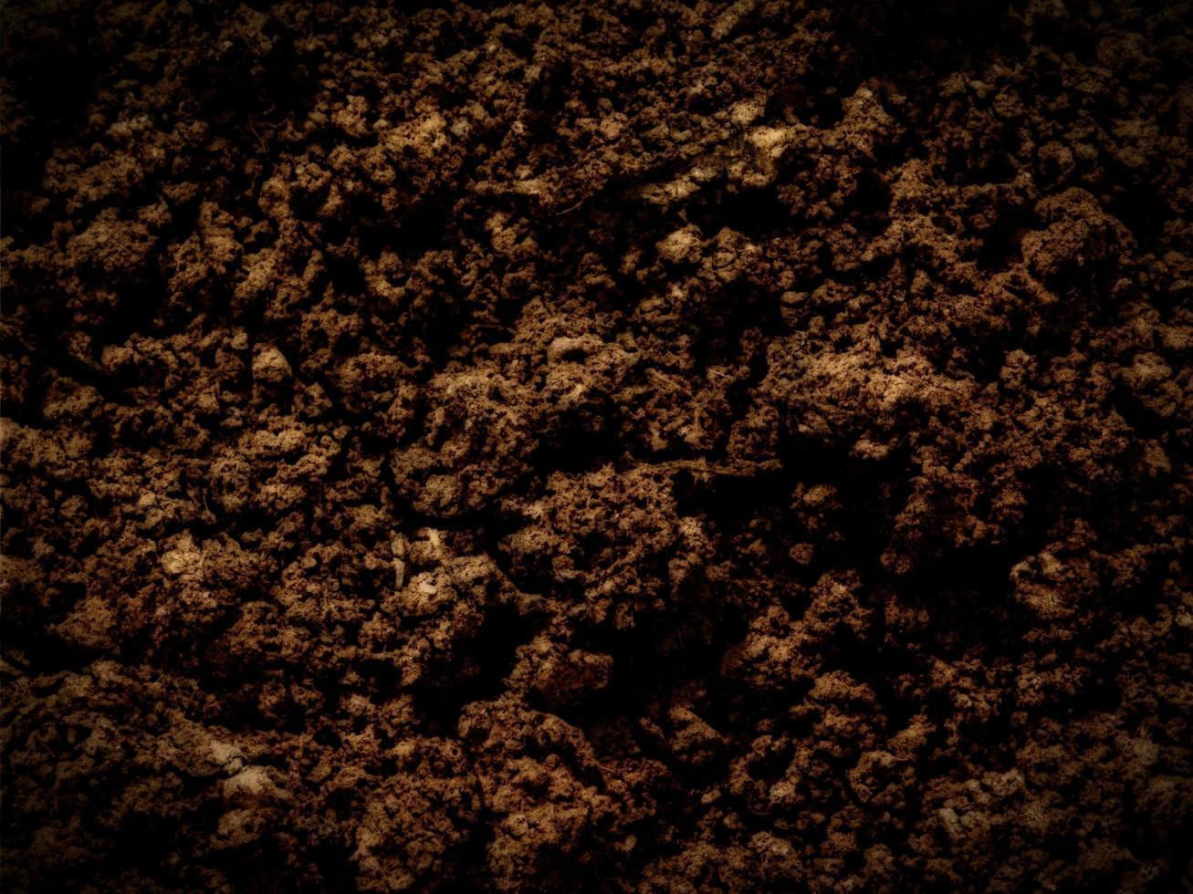 donkere aarde textuur foto