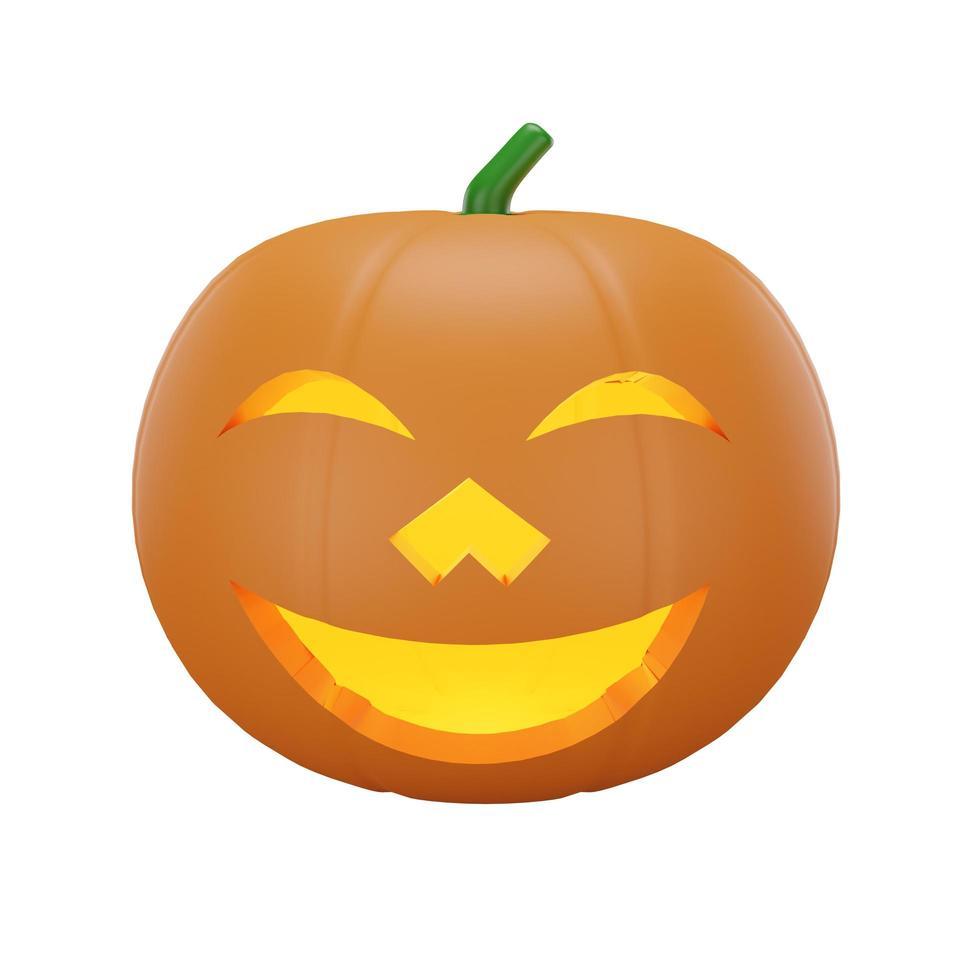 pompoen met halloween concept foto