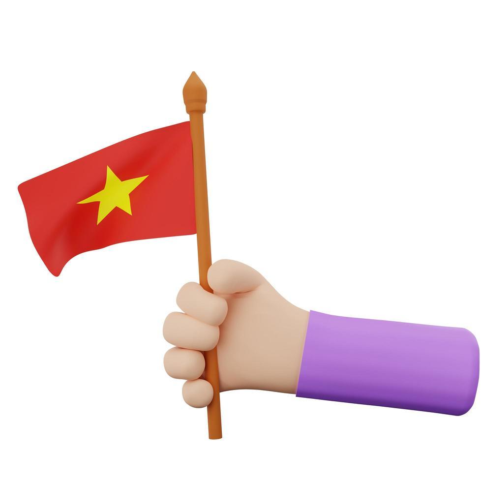 Vietnam nationale dag concept foto