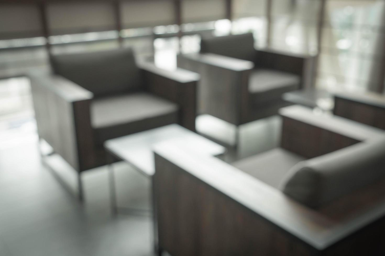 abstracte vervaging in coffeeshop - vintage effectfilter foto
