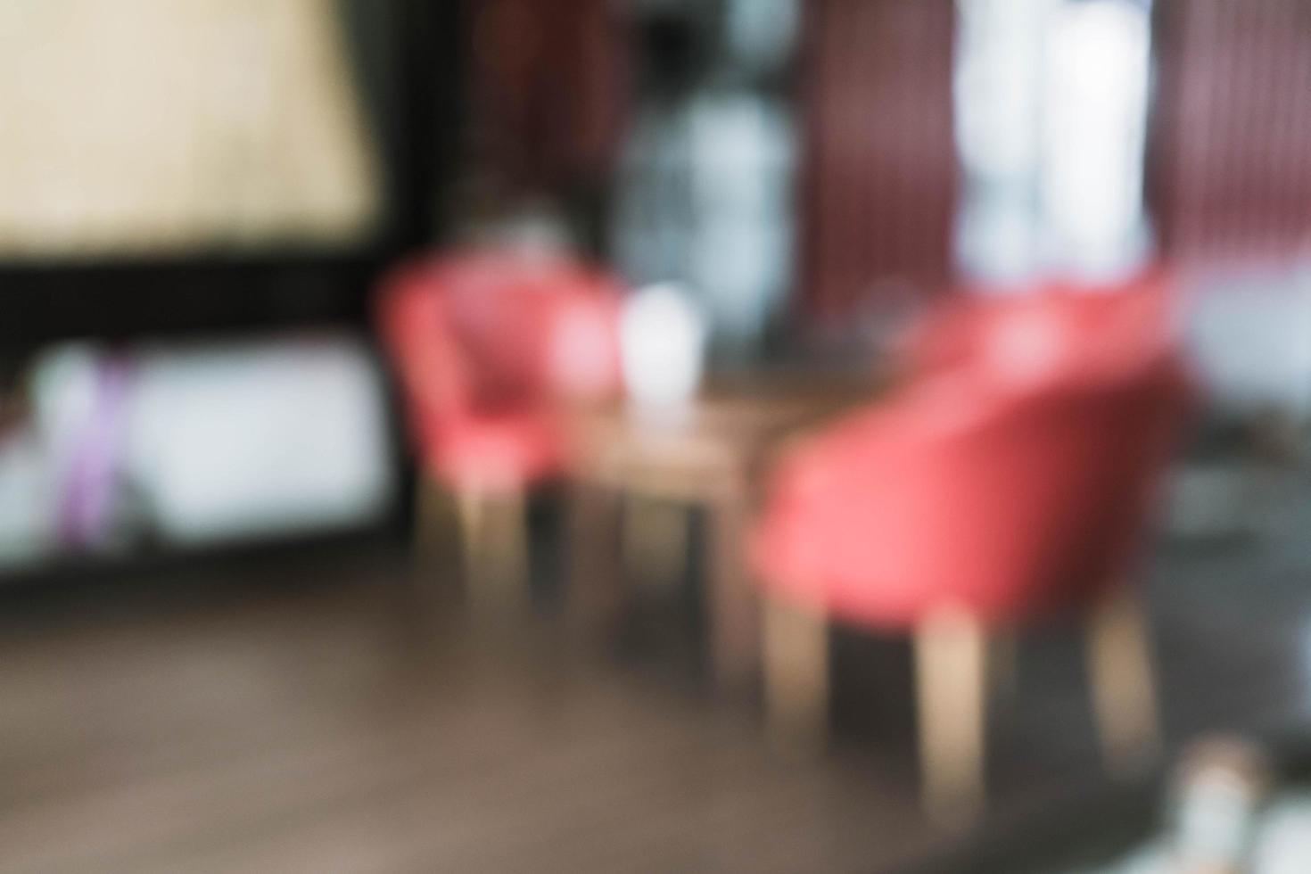 abstracte vervaging in café voor achtergrond foto
