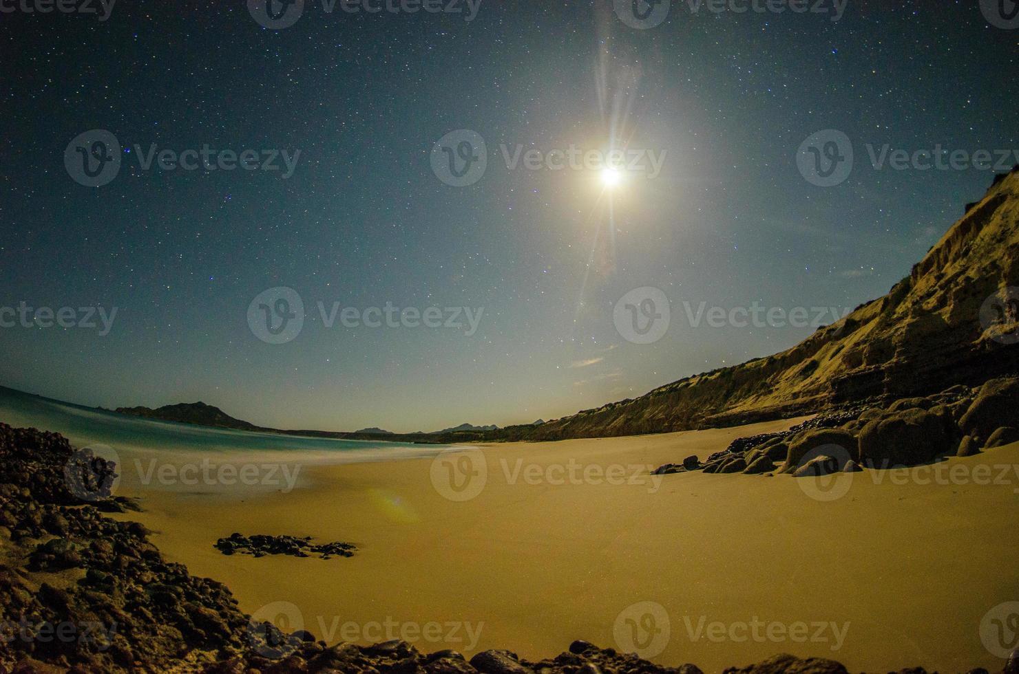woestijnachtige stranden. foto