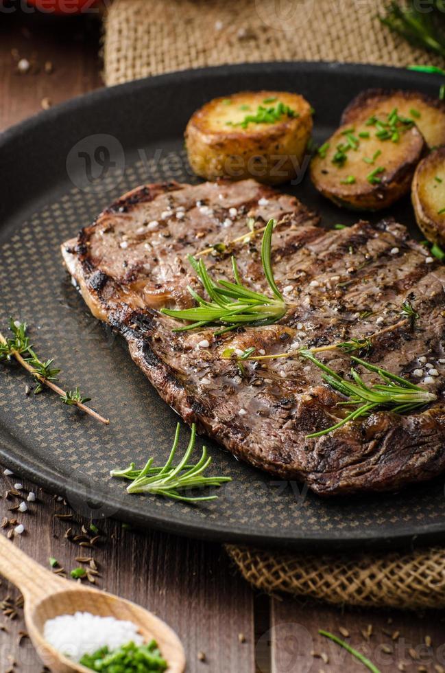 runderrib eye steak foto