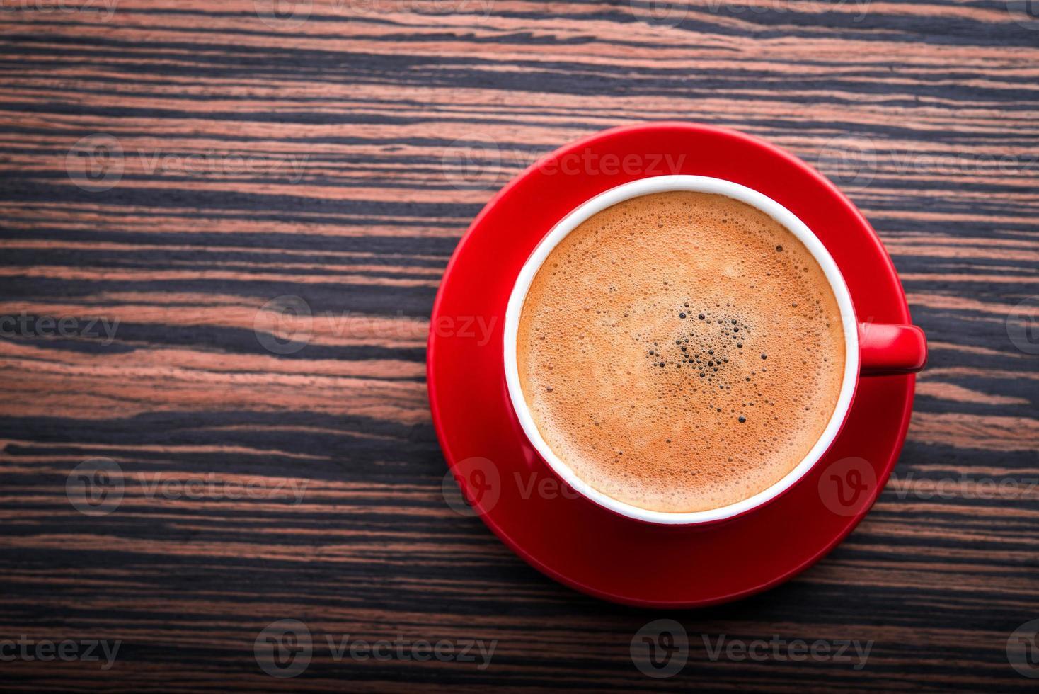 kopje met latte foto