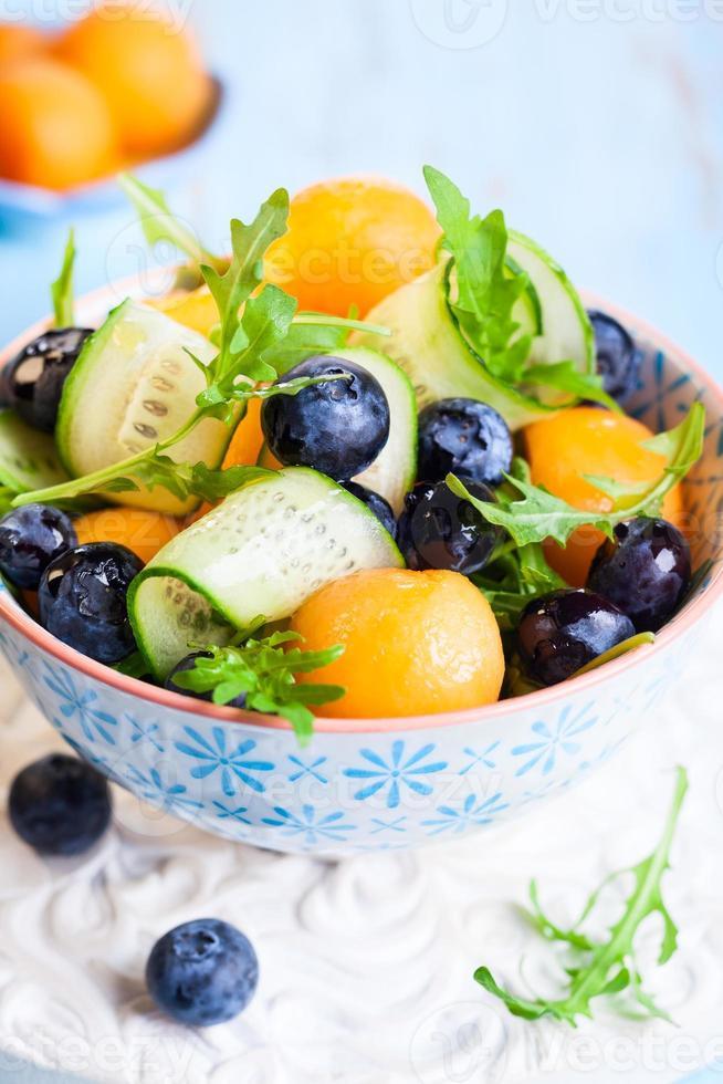 meloen salade foto